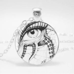 Jewelry - 👁Octopus eye necklace 👁 🐙